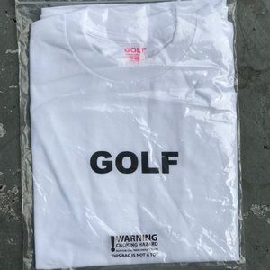 GOLF tee, golf wang. Never used
